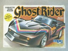 CORVETTE ROAD RACER GHOST RIDER 1/25 SCALE MODEL KIT W/BOX 1982 FUNDIMENSIONS