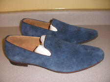 Men's Steve Madden Eldred Slip-On Blue Suede Loafer Size 13M