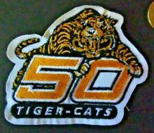 Hamilton Tiger-Cats 50th Anniversary Patch - 2000