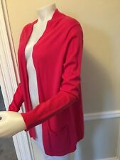 Gap Open Front Long  Sleeve Side Pockets Cardigan Sweater NWT Msrp$40