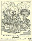 Caricature London Cigars Smoking TOBACCO HISTORY HISTOIRE TABAC IMAGE CARD 30s