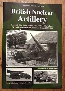 Tankograd British Special 9018 British Nuclear Artillery, Softback book