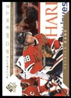 2019-20 UD SP Authentic 2018-19 Update Limited Auto Moments #104 Patrick Kane