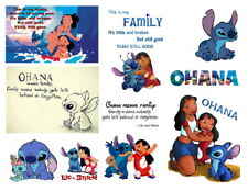 Lilo and Stitch - Iron on Transfers - Shirts, Hats, Pillows, Aprons and more