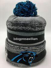 New Era Carolina Panthers On Filed Beanie Hat Size: One Size Fits Most