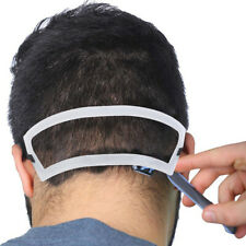 White Neck Hair Line Guide Neckline Hairline Haircuts Template Shaving TrimWR