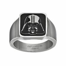 Star Wars Darth Vader Stainless Steel Ring Size 10 Disney Lucasfilm