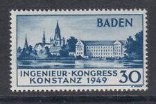 Baden 46 I ** postfrisch Marke 2