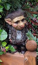 Novelty Viking Hippy Dam Troll Hobbit Gnome Garden Outdoor Home Gift Ornament