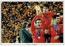 Cesc FABREGAS Signed Spain World Cup Autograph 16x12 Montage Photo AFTAL COA