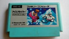 ICE CLIMBER Nintendo Famicom FC (NES) cartridge only/ tested-a37-