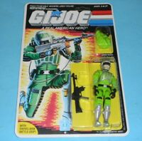 *RECARDED* 1986 GI Joe Sci Fi Figure Complete Sealed *CUSTOM Full File Card Back