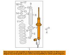 HONDA OEM 03-05 Accord Rear-Strut / Shock 52611SDBA02