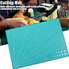 A4 Cutting Mat Self Healing Printed Grid Line Craft Knife Rotary Cutter Board UK