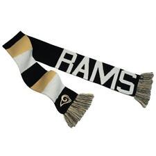 NFL STL Rams LA Rams Baker Reversible Striped Knit Scarf NWT Orig. $30.00