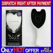 Tangle Angel Classic Detangling Brush for Hair Extensions & Mega Tangle White