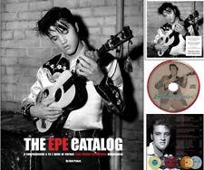 Elvis Presley - The EPE Catalog - Hardback Book + CD KJ Consulting New & Sealed