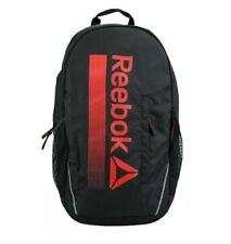 New Reebok Trainer Pack Backpack (Black-Red) Free Shipping MSRP $60