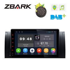 "9"" Android 8.1 Quad-Core Car Dash Video GPS Stereo Radio WiFi for BMW E39 X5 E53"