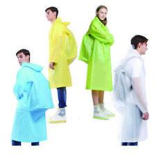 Adult Unisex Translucent Waterproof Raincoat Outdoor backpack Rain Cover 4359