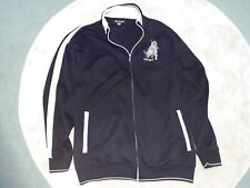 Ecko Untld Black & White Zip Jacket with Embroidered Rhino Design Size XL