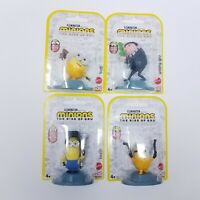 "Lot of (4) Illumination's Minions: The Rise of Gru 2.5"" Toys"
