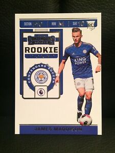 2019-20 CHRONICLES CONTENDERS SOCCER ROOKIE TICKET [ JAMES MADDISON ] LEICESTER