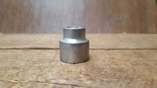 "Vintage Sidchrome 9/16"" Whitworth Socket, 1/2 inch Drive"