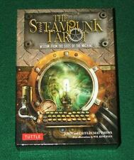 The Steampunk Tarot: Wisdom from the Gods of the Machine Cards NEW