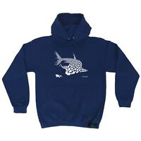 Diving Hoodie - Fish Shark Diver - hoody diver funny Birthday Gift HOODY
