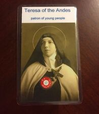 Saint Teresa of the Andes + 3rd Class Relic