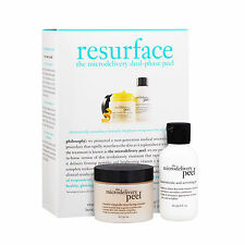 2 PCS Philosophy Resurface The Microdelivery Dual-Phase Peel Skin Care Set#18958