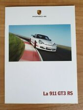PORSCHE 911 GT3 RS (996) BROCHURE / CATALOGUE / PROSPEKT – FRENCH / FRANCAIS