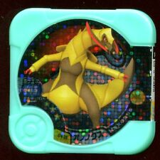 "POKEMON JETON COIN CARRE ""COUNTER"" - N° U4-14 Haxorus HOLO オノノクス"