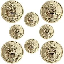 Usa Army Buttons Eagle Hopper Back with Toggles - 4x36 ligne and 4x25 ligne