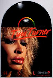 "Tina Turner - Help (1984) Vinyl 12"" Single • IMPORT • Private Dancer"