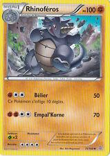 Rhinoféros - XY5:Primo Choc - 75/160 - Carte Pokemon Neuve Française