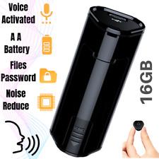 Mini Spy Voice Activated Recorder Digital Hidden Audio Listening Device 16GB