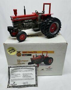 Massey Ferguson 1150 Tractor W/ Duals Collector Ed. Iowa FFA 1/16 Scale Models