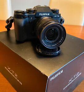 Fujifilm XT-2 (Kit mit Fujinon XF 18-55 F2.8-4 R LM OIS Zoomobjektiv) ***OVP***