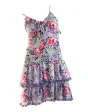 ALANNAH HILL Pure Silk 'Cunning as a Snake Frock' Dress Size 8 Small S RRP:$389