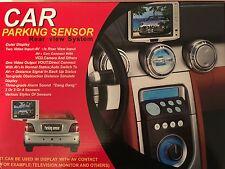 Mirror display backup camera and parking sensor kit - Canada