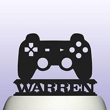 Personalizzata Acrilico Game Console Controller COMPLEANNO CAKE TOPPER DECORAZIONE