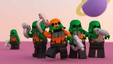 Old Photo. Toy Lego Five Ugokin Warriors