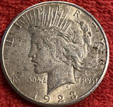 1923-S San Francisco Mint Silver Peace Dollar
