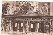 BF16922 bourg eglise de brou mausolee de philibert le b  france front/back image