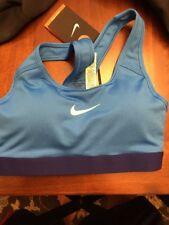 e508baceedca4 Nike Pro Classic Raceback Sports Bra Blue Size XS 650831 408 MSRP  40