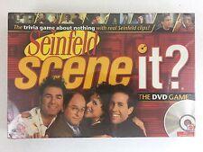 NEW SCENE IT? Seinfeld DVD Board Trivia Game 2008 Mattel FACTORY SEALED