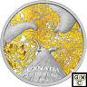 2014 Autumn Allure -Maple Canopy Color Prf $20 Silver 1oz .9999 Fine(NT)(14008)