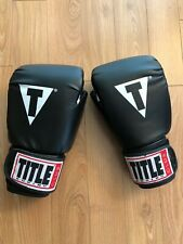 Brand New Title Boxing Club Aerobic Boxing Gloves Size M Reg Black